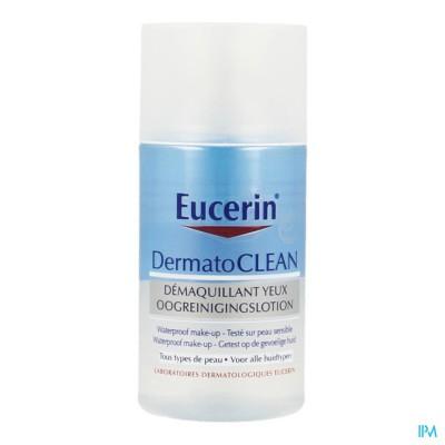 Eucerin Dermatoclean Oogreinigingslotion Wtp 125ml