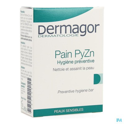 Dermagor Wastablet Zn Pyrithion 2% Z/zeep 80g