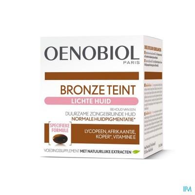 Oenobiol Bronze Teint Lichte Huid Caps 30