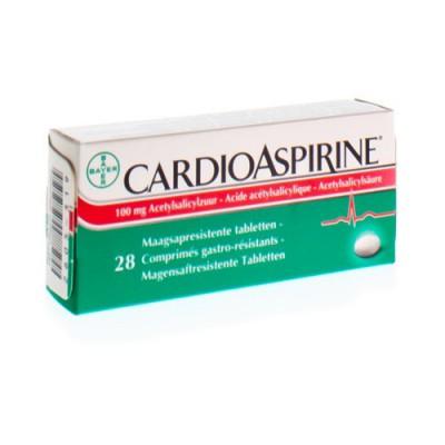 CARDIOASPIRINE GASTRO RESIST. TABL 28 X 100MG