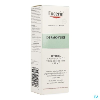 EUCERIN DERMOPURE ADJUNCTIVE SOOTHING CREAM 50ML