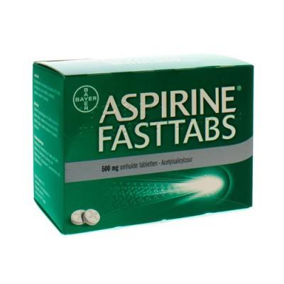 ASPIRINE FASTTABS 500MG COMP PELL 40