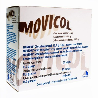 MOVICOL GOUT CHOCOLAT SACHETS 20 X 13,7 G