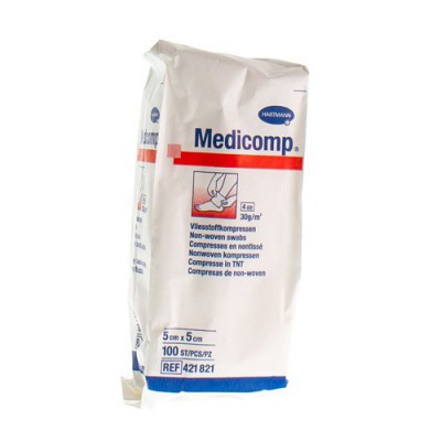 MEDICOMP CP N/ST 4PL 5X 5CM 100 4218217