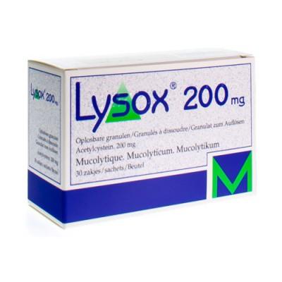 LYSOX GRAN SACH 30X200MG