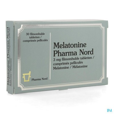 Melatonine Pharma Nord 3mg Filmomh Tabl 30 X 3mg