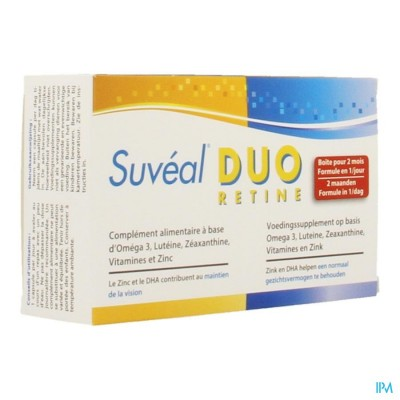 SUVEAL DUO CAPS 60