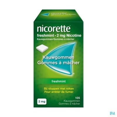 Nicorette Freshmint Gomme Mach 105x2mg