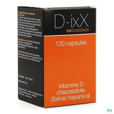 D-ixx 3000 Caps 120