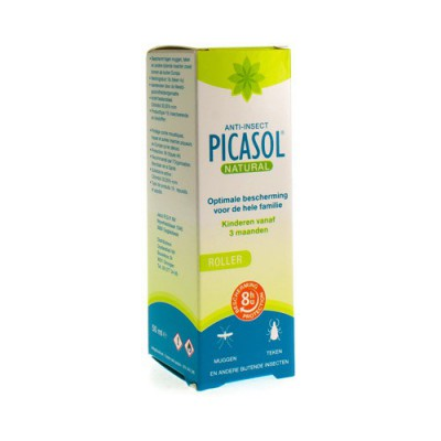 PICASOL NATURAL ROLLER 50ML