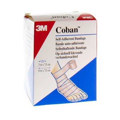 COBAN 3M REKVERBAND SKIN ROL 7,5CMX4,57M 1583/S