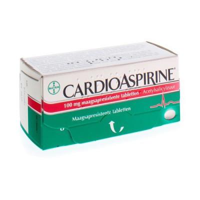 CARDIOASPIRINE GASTRO RESIST. TABL 84 X 100MG