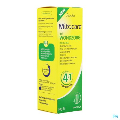 MITOCARE GEL WONDZORG 50G