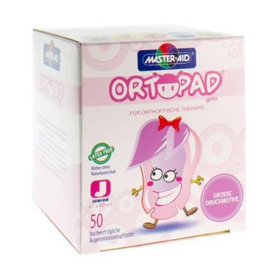 ORTOPAD JUNIOR FOR GIRLS COMPRESSE OCUL. 50 73221