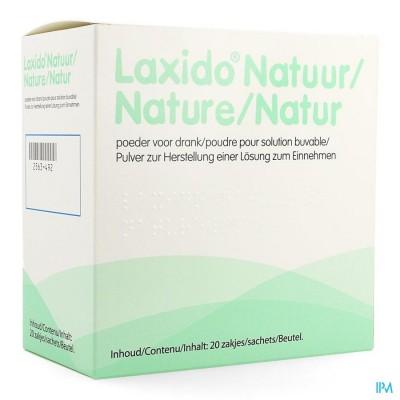 Laxido Natural Sach 20 X 13,7g