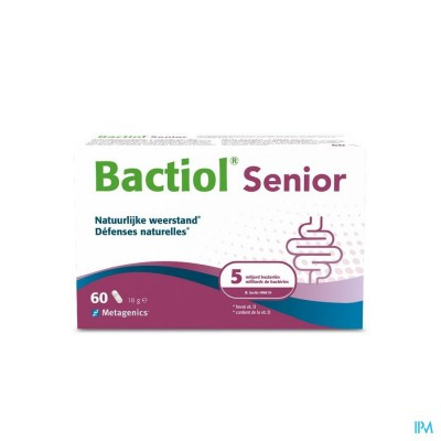 Bactiol Senior Caps 60 27728 Metagenics