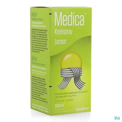 Medica Spray Pour La Gorge Lemon 30ml