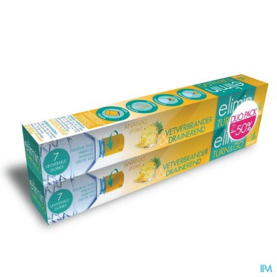 Elimin Turn&go Ananas Duo Pack Dopjes 2x7