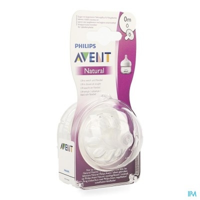 PHILIPS AVENT NATURAL 2.0 TETINE FIRSTFLOW