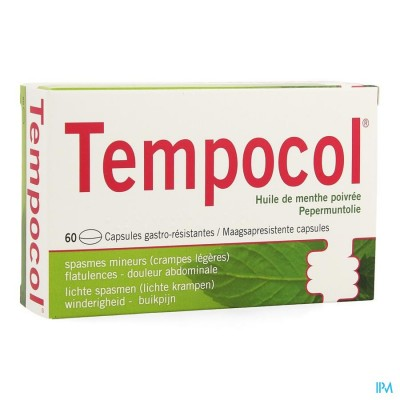 TEMPOCOL CAPS 60 X 182 MG