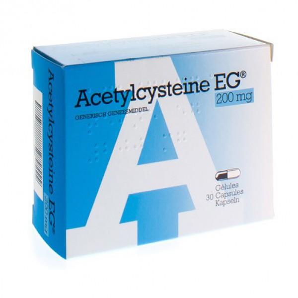ACETYLCYSTEINE EG CAPS 30 X 200 MG