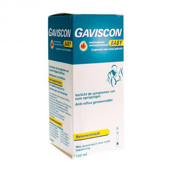 GAVISCON BABY SUSPENSION BUVABLE 150 ML