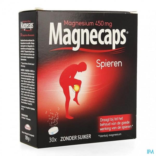 Magnecaps Spierkrampen Bruistabl 30