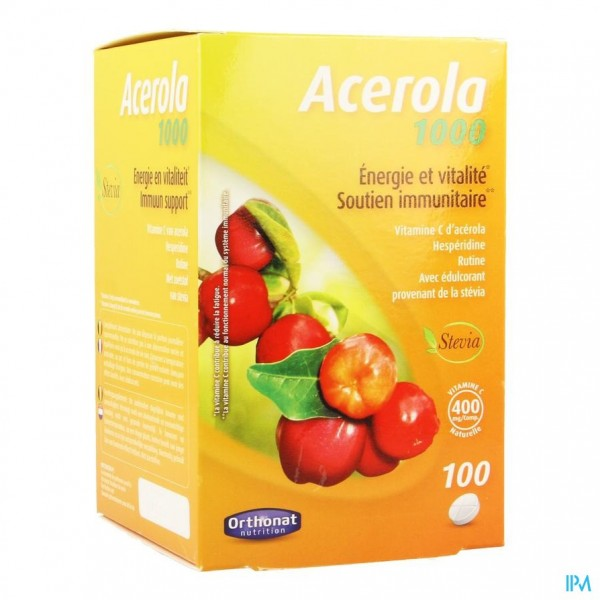 Acerola 1000 Nf Comp 100 Orthonat