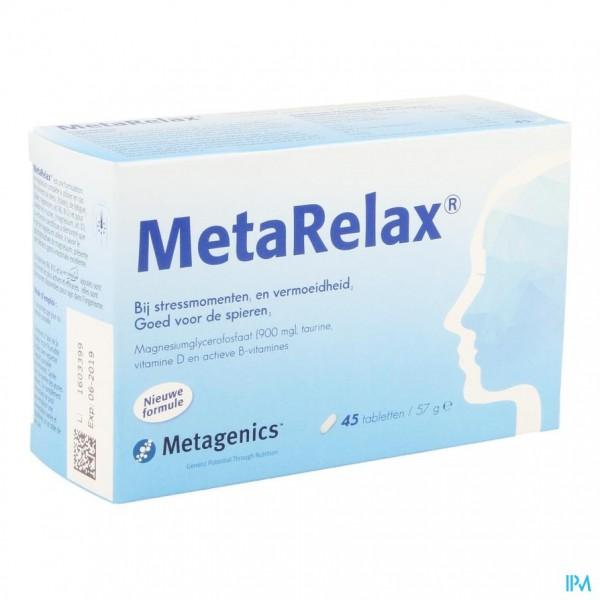 Metarelax Nf Tabl 45 21874 Metagenics