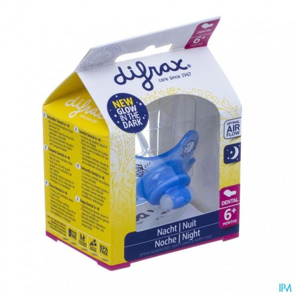DIFRAX SUCETTE DENTAL +6 NUIT