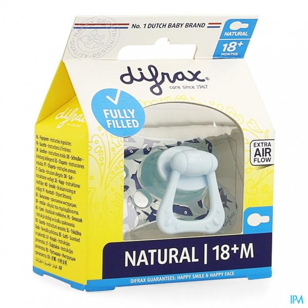 Difrax Sucette Natural 18+ M Boy