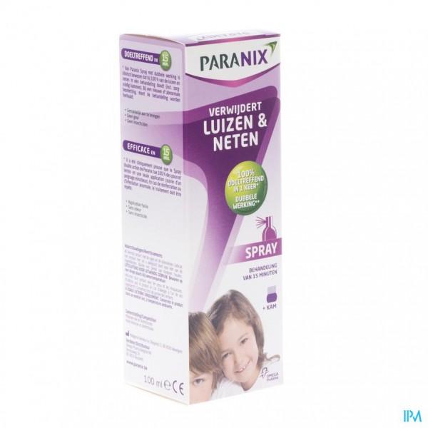 Paranix Spray Met Kam 100ml