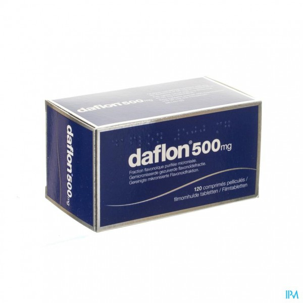 Daflon 500 Comp 120x500mg