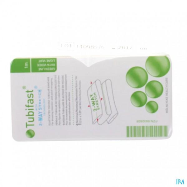 Tubifast Vert 5,00cmx 1m 1 2481