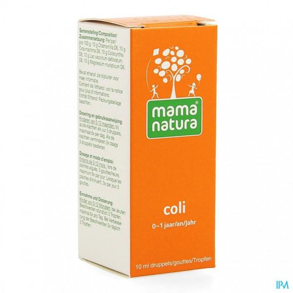 Mama natura coli 10 ml orale druppels