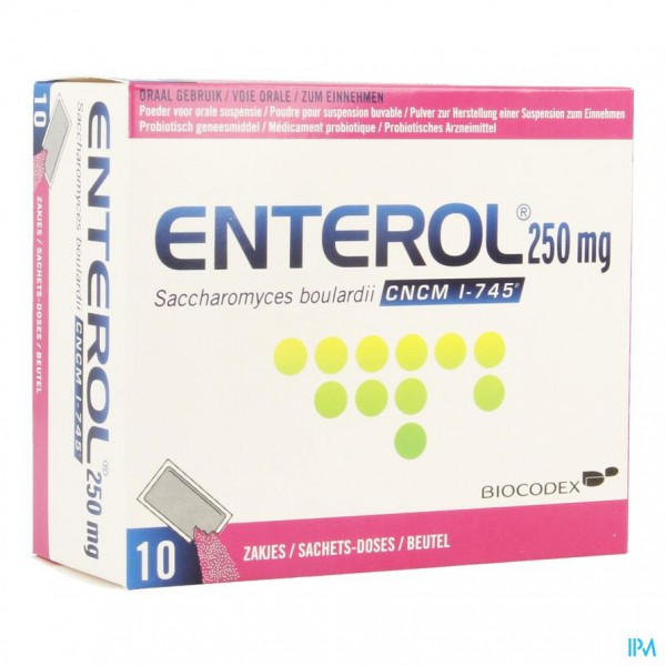 Enterol 250mg Pulv Sach 10